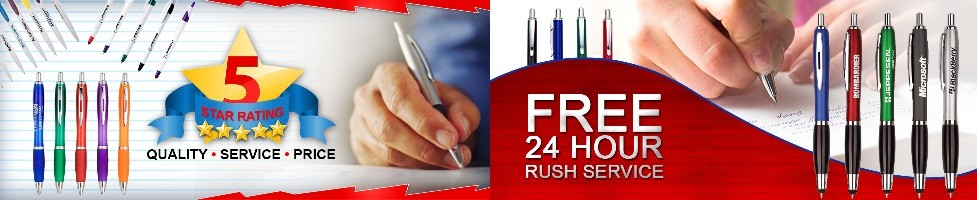 Custom Promotional Pens | Rush 24-72 Hours Deliver